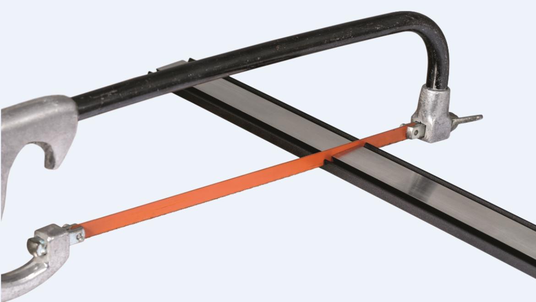 Durante l'installazione, tagliare alla lunghezza desiderata