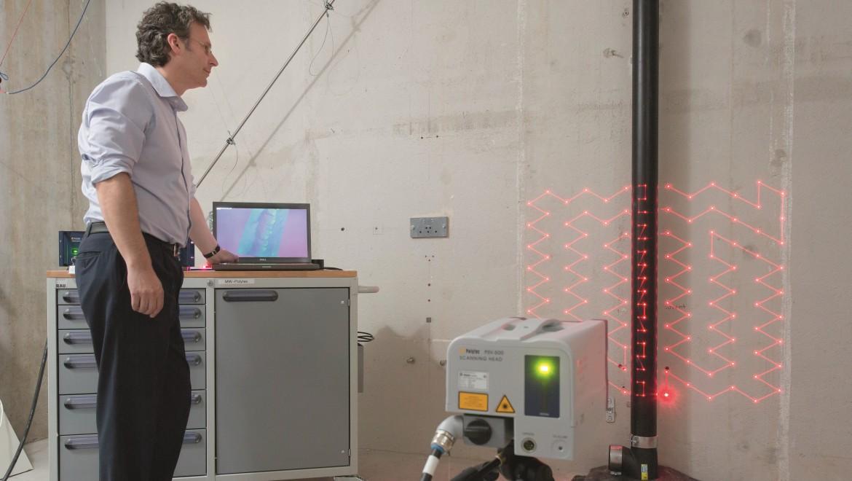 Laboratorio di fisica dell'edilizia Geberit