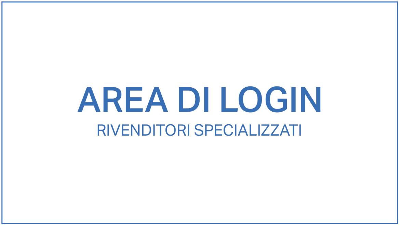 Area di login rivenditori specializzati